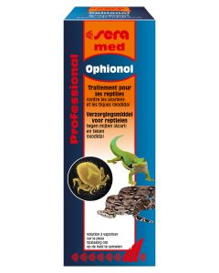 Sera med -  Traitement Professional Ophionol pour reptile 50 ml