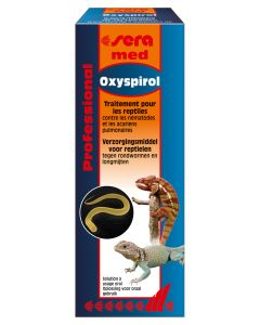 Sera med - Traitement Professional Oxyspirol  pour reptile 30 ml