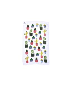 Serviette Invite 100% coton De La Collection Cactus