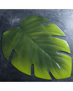 Set de table feuille de philodendron artificielle H.45 cm