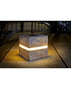 Smart Garden - Glam Rock Cube Granite Solaire