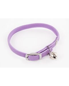 Smooz - Collier pour chat en nylon parme 10 mm/30 cm