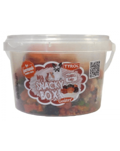 Snacky box crumble cake pour lapins et rongeurs 150 g