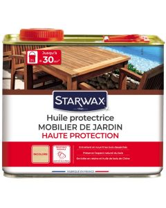 Starwax - Huile protectrice mobilier de jardin 2L
