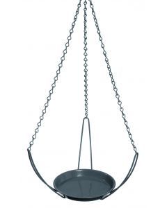 Suspension - gris - L.28 x l.28 x H.16 cm