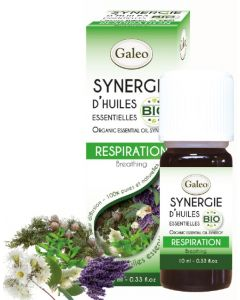 Synergie d'huile essentielle Respiration