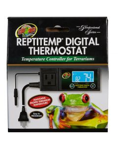 Thermostat digital Reptitemp pour terrarium