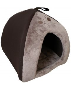 Tipi Chat 38X38X40Cm Marron Sweet Home