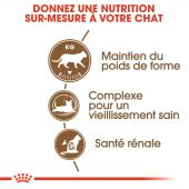 Miniature 2 - Croquettes Royal Canin Chat Ageing Sterilised 12+ - 2 kg