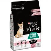 Miniature 1 - Croquettes Purina Pro Plan Small & Mini Sensitive Skin Saumon 3kg