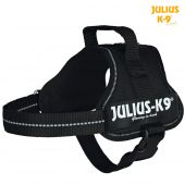 Miniature 0 - Harnais Power Julius-K9®, Mini/M: 51–67 cm/28 mm, noir