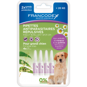 Miniature 1 - Pipettes antiparasitaires répulsives grand chien 4 pipettes 2 ml