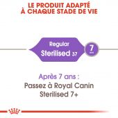Miniature 3 - Croquettes Royal Canin Chat Sterilised 37 - 2 kg